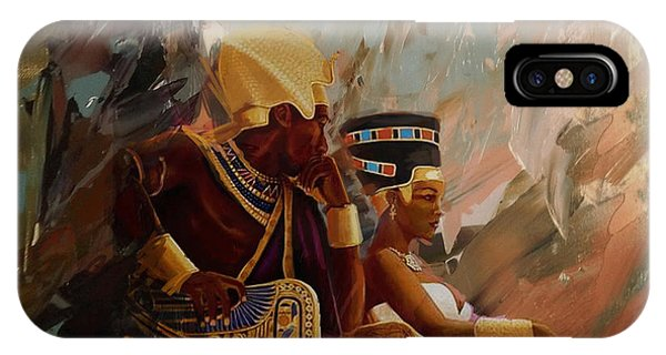 Corporate Art Task Force iPhone Case - Egyptian Culture 44b by Corporate Art Task Force