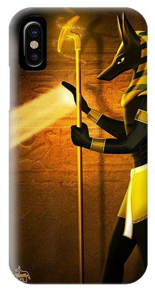 Egyptian God Anubis IPhone Case
