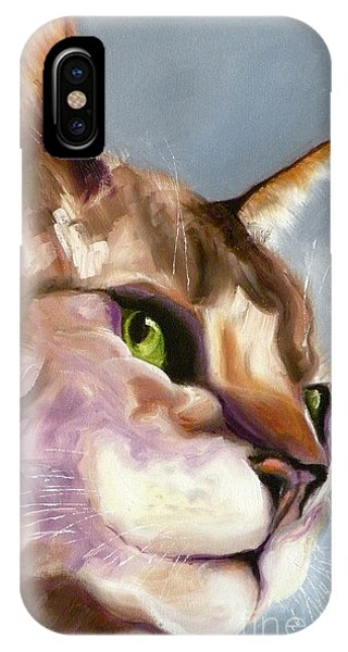 Egyptian Mau Princess IPhone Case