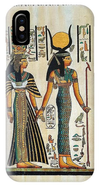 Egyptian Papyrus IPhone Case