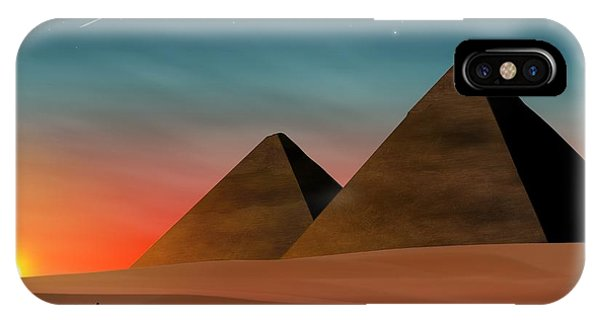 Egyptian Pyramids IPhone Case