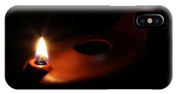 Egyptian Style Lamp - Terracotta 1 IPhone Case