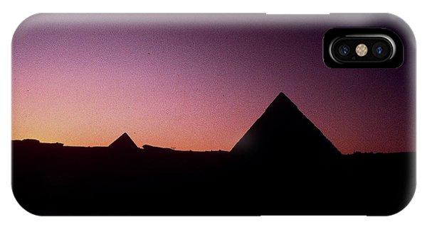 Egyptian Sunset IPhone Case