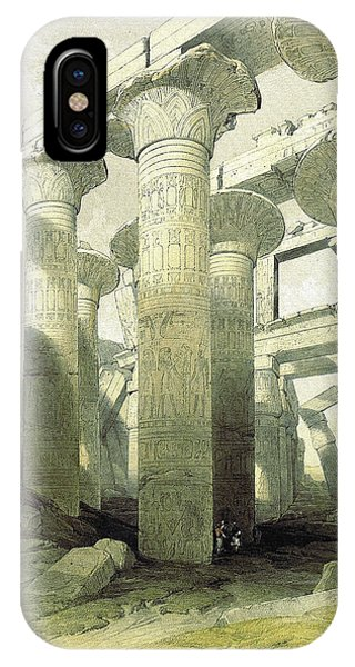 Egyptian Temple No 3 IPhone Case