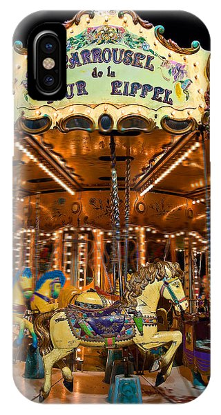 Eiffel Carrousel IPhone Case