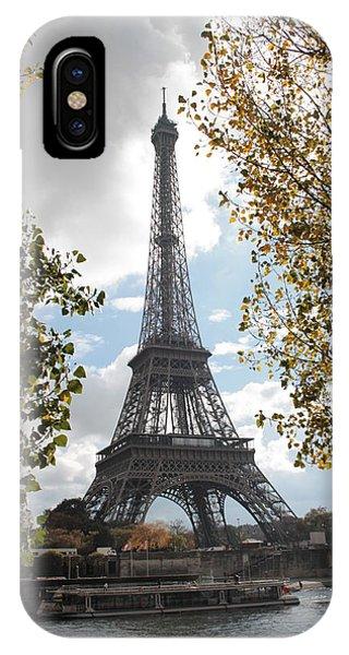 Eiffel From Avenue De New York IPhone Case