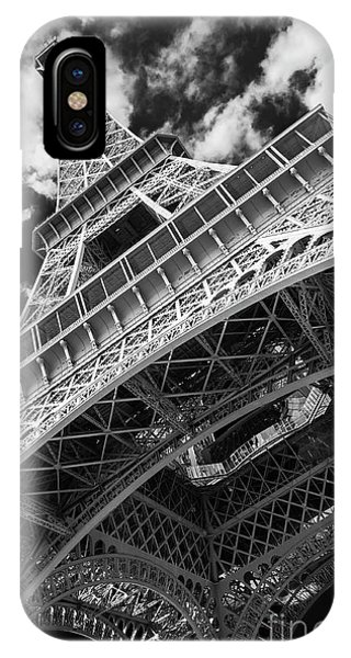 Eiffel Tower Infrared Abstract IPhone Case