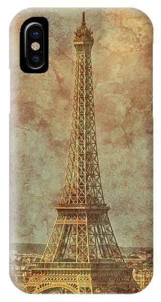 Paris, France - Eiffel Tower IPhone Case
