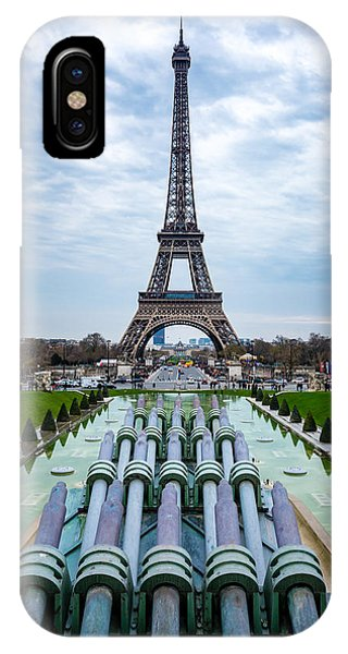 Eiffeltower From Trocadero Garden IPhone Case