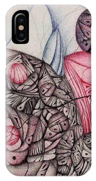 Eight By Twelve Vintage Ink IPhone Case