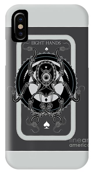 Eight Hands IPhone Case