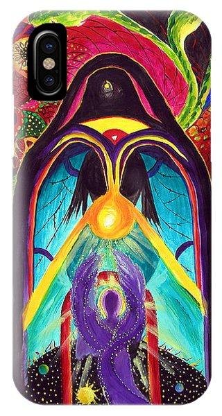 Violet Angel IPhone Case