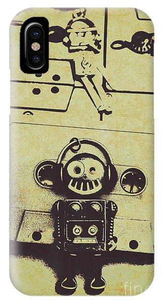 Disc iPhone Case - Eighties Rewind  by Jorgo Photography - Wall Art Gallery