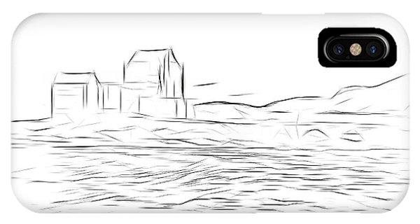 Castle iPhone X Case - Eilean Donan Castle Digital Art by Smart Aviation