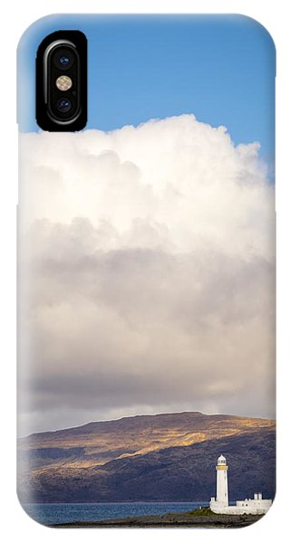 Eilean Musdile Lighthouse On Lismore IPhone Case