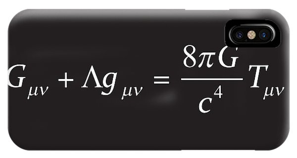 Einstein Field Equation Formula IPhone Case
