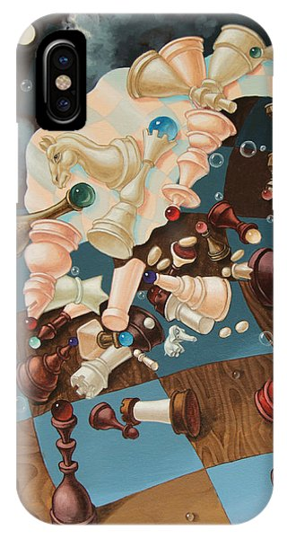 Einstein, Who Did Not Know How To Play Chess. IPhone Case