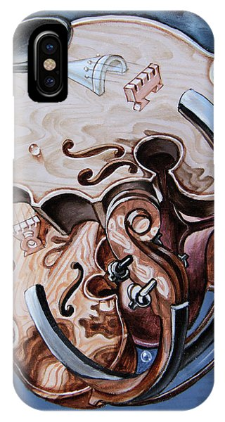 Einstein's Violin. Op.2763 IPhone Case
