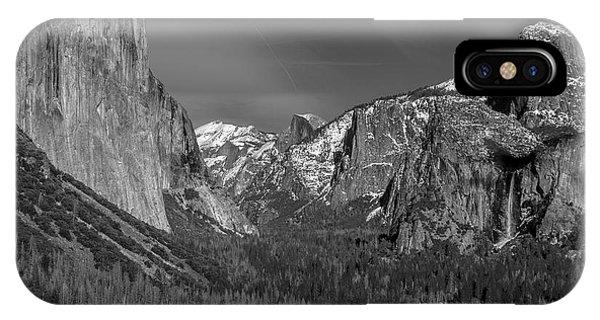 El Capitan And Half Dome IPhone Case