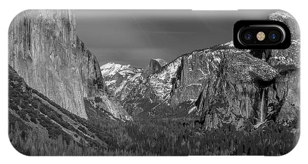 El Capitan And Half Dome IPhone Case