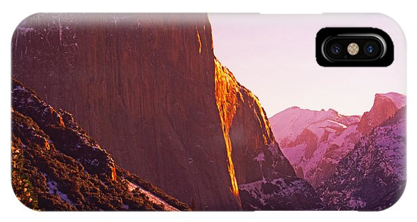 El Capitan And Half Dome, Yosemite N.p. IPhone Case