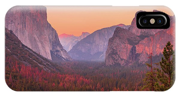 El Capitan Golden Hour IPhone Case