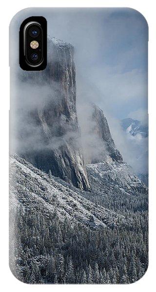 El Capitan In Clouds IPhone Case