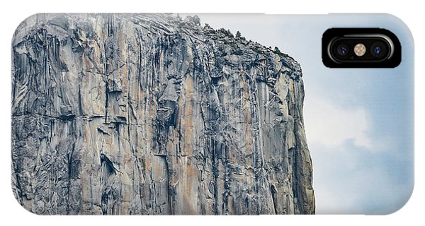 El Capitan Up Close And Personal From Tunnel View Yosemite Np IPhone Case