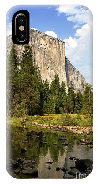 IPhone Case featuring the photograph El Capitan Yosemite National Park California by Steven Frame