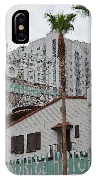 El Cortez Hotel Las Vegas IPhone Case