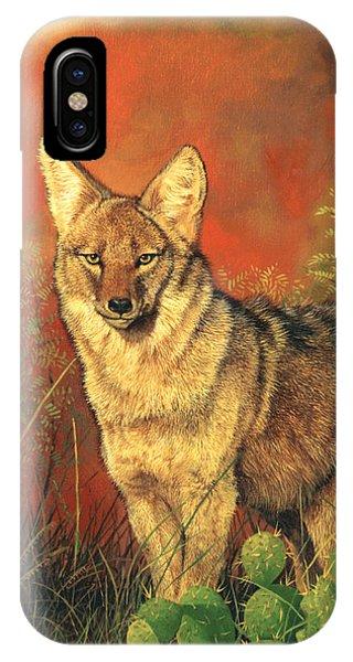 El Coyote IPhone Case