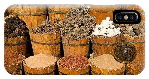 El Dahar Market Spices IPhone Case