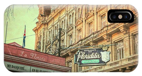 El Floridita Havana Cuba IPhone Case