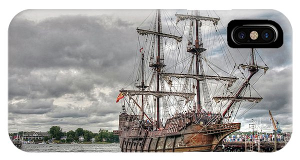 El Galeon Andalucia In Portsmouth IPhone Case