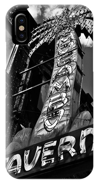 El Mocambo Tavern Toronto Ontario IPhone Case