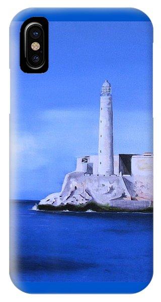 El Morro Havana Cuba IPhone Case