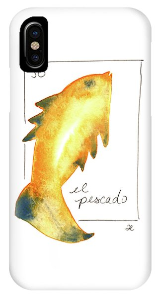 El Pescado IPhone Case