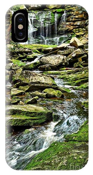 Elakala Falls At Blackwater Falls State Park IPhone Case