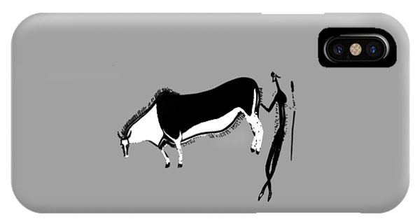 Eland And Man IPhone Case