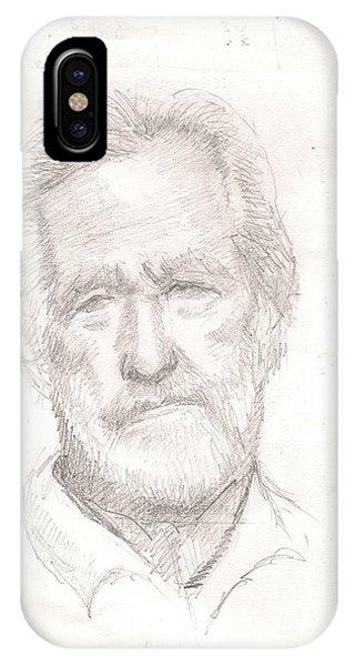 Elderly Man IPhone Case