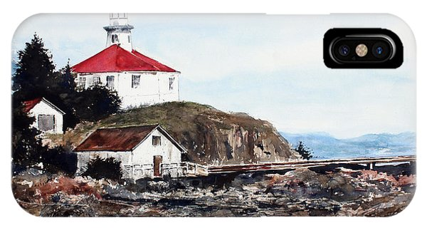 Eldred Rock Lighthouse IPhone Case