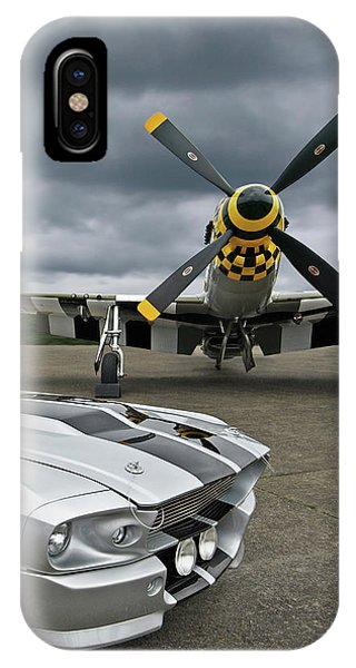 Eleanor Mustang With P51 IPhone Case