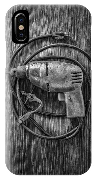 Electric Drill Motor IPhone Case