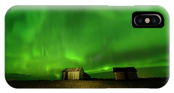 Electric Green Skies IPhone Case