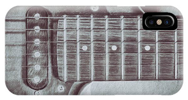 Electric Guitar iPhone Case - Electric Guitar by Scott Norris