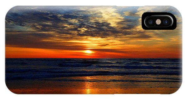 Electric Golden Ocean Sunrise IPhone Case