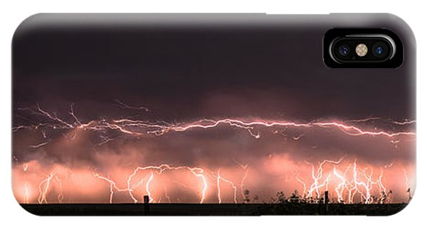 Electric Panoramic IIi IPhone Case