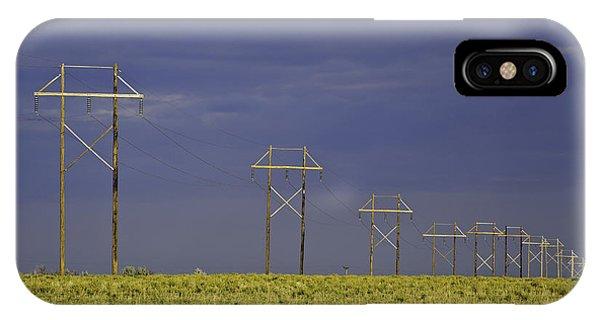 Electric Pasture IPhone Case