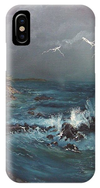 Electric Sky IPhone Case