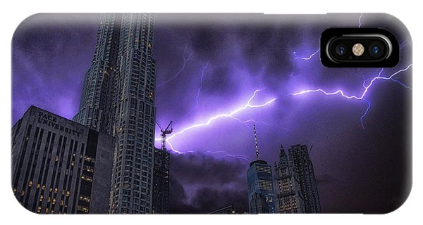 Electric Storm IPhone Case